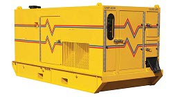 Picture of a diesel generator