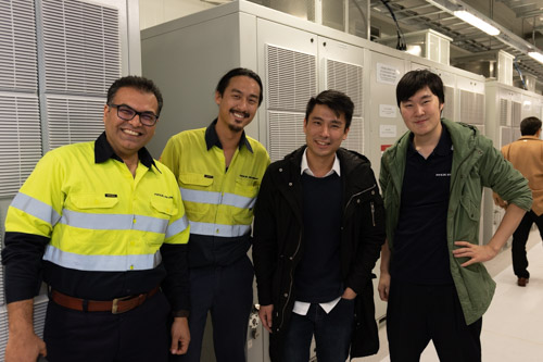 Photo of some of Teck Global's team members