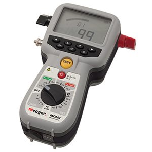 Picture of Megger MOM2 240A handheld micro-ohmmeter
