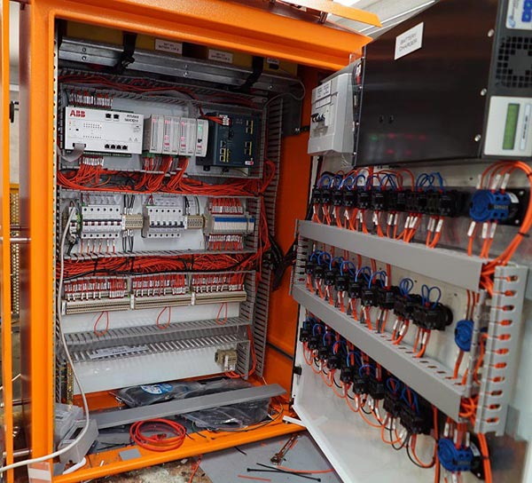 Custom control panel (or ROP) designed by Teck Global